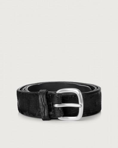 Cutting leather belt 3,5 cm