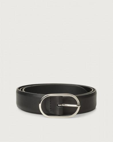 Bali classic leather belt 3 cm