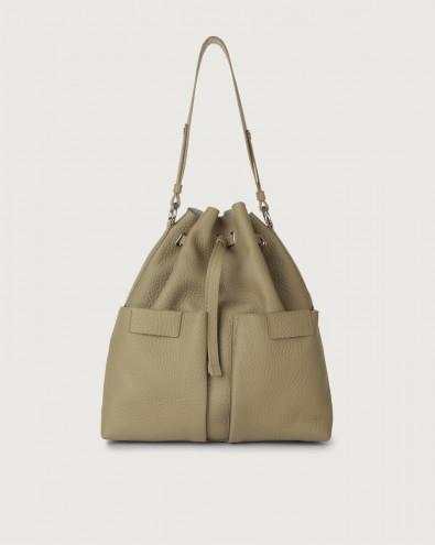 Tessa Soft large leather bucket bag