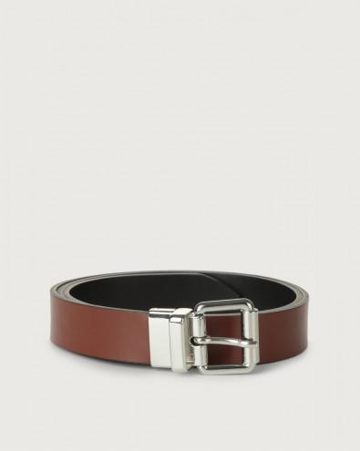 Liberty Double thin leather belt