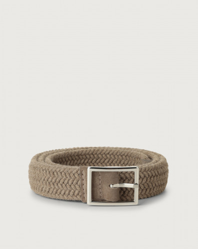 Small Wool stretch belt