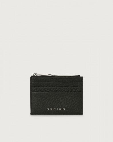 Soft leather card holder