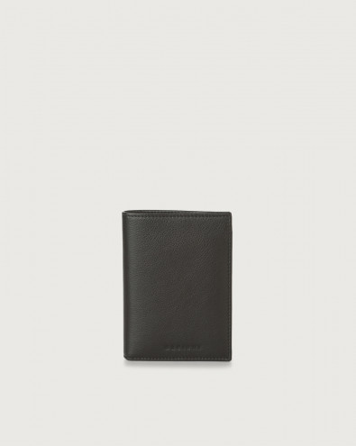 Liberty leather vertical wallet