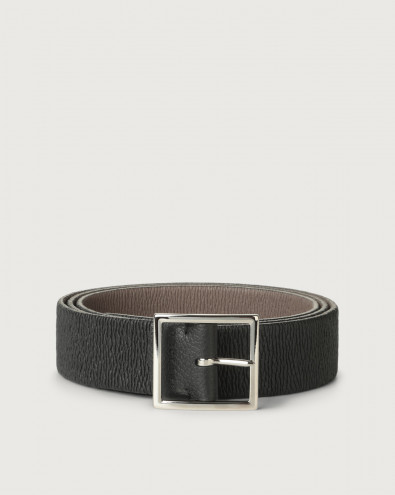 Micron Double reversible leather belt