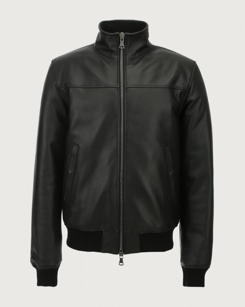 Nappa leather jacket