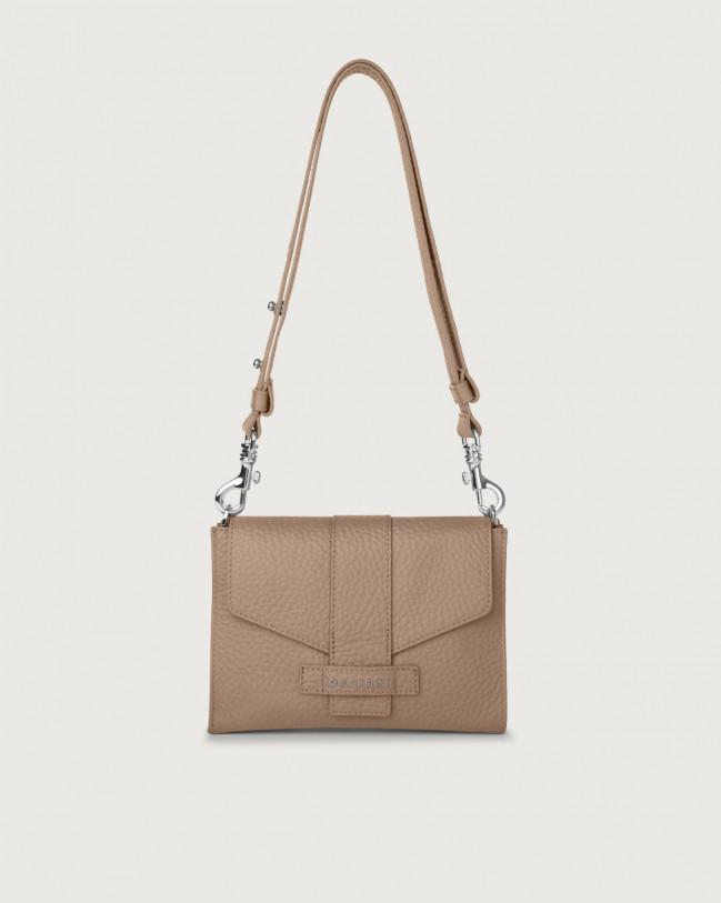 Orciani Soft leather mini bag Leather Taupe