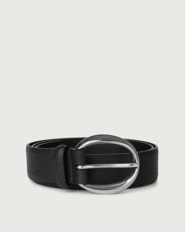 Orciani Soft leather belt Leather Black