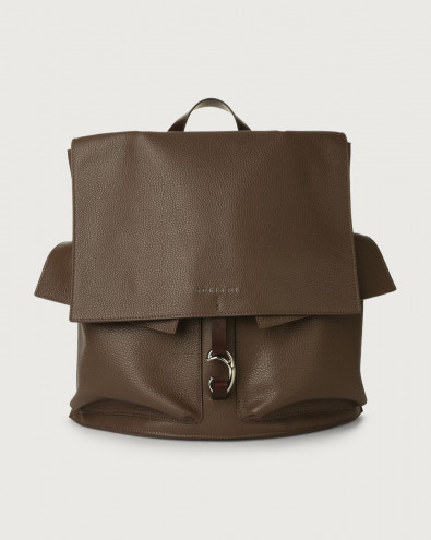 Scout Micron leather backpack