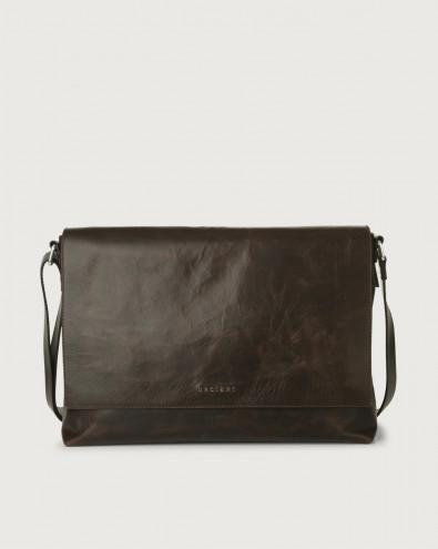 Artik leather messenger bag