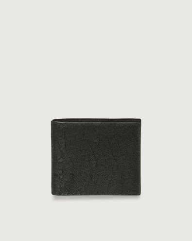 Frog leather wallet with coin pocket