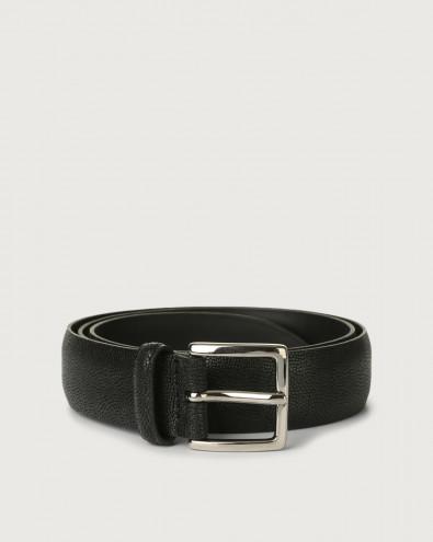 Frog leather belt