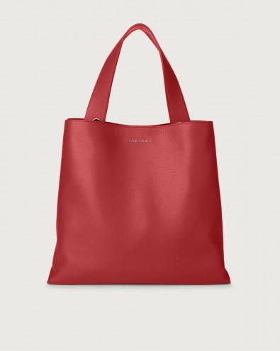 Jackie Micron leather shoulder bag