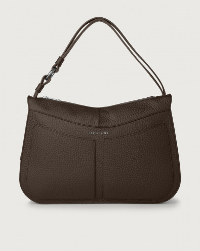 Ginger Soft large leather shoulder bag