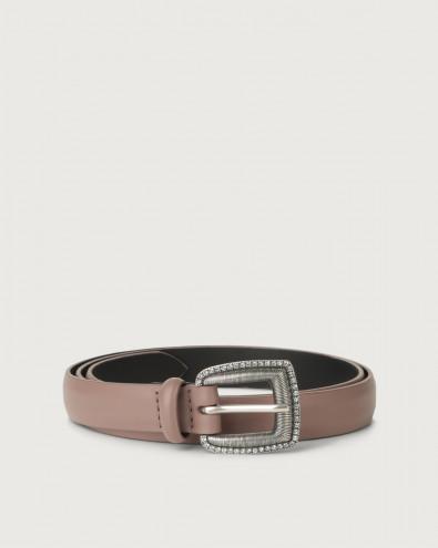 Liberty thin leather belt