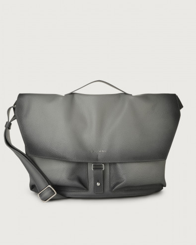 Micron Deep leather crossbody bag