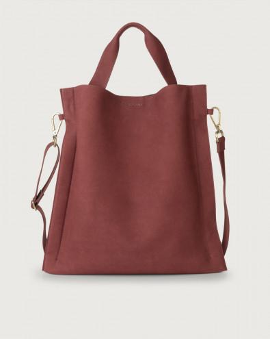 Iris Alicante nabuck leather shoulder bag