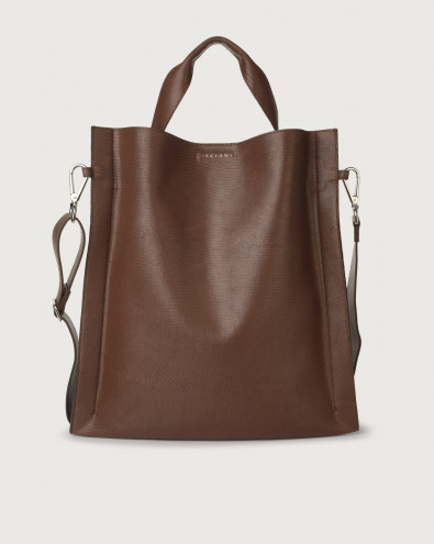 Iris Shadow leather shoulder bag