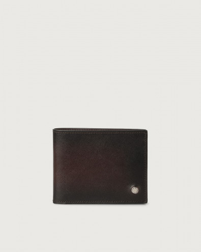 Saffiano Deep leather wallet
