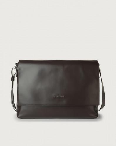 Liberty leather messenger bag