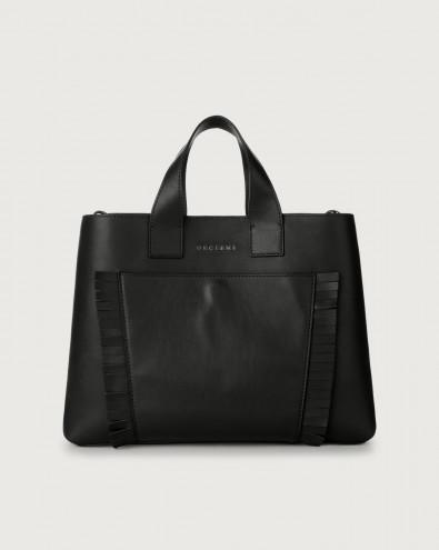 Nora Liberty Fringe large leather handbag