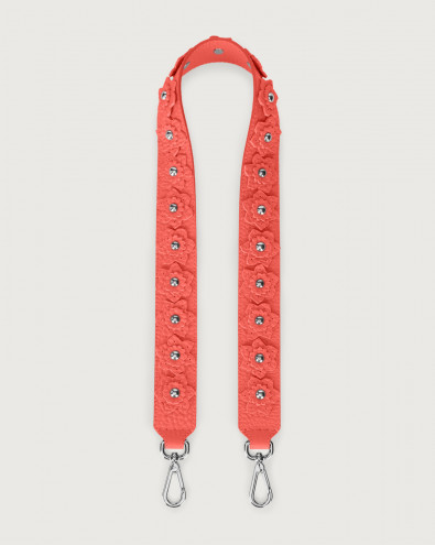 Soft Flower leather strap