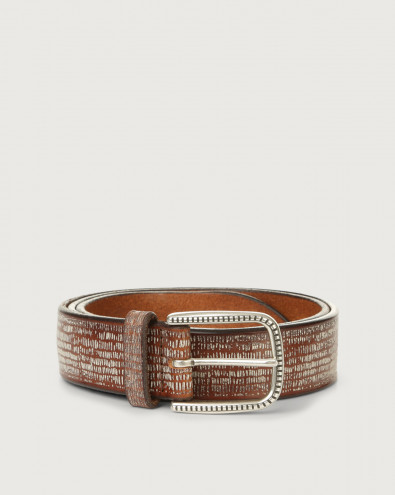 Bull Soapy leather belt