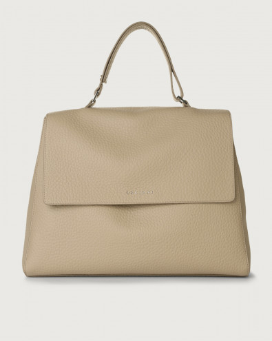 Sveva Soft large leather shoulder bag