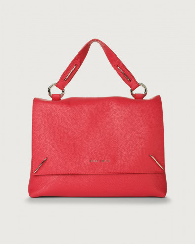 Kate Micron leather handbag with double flat