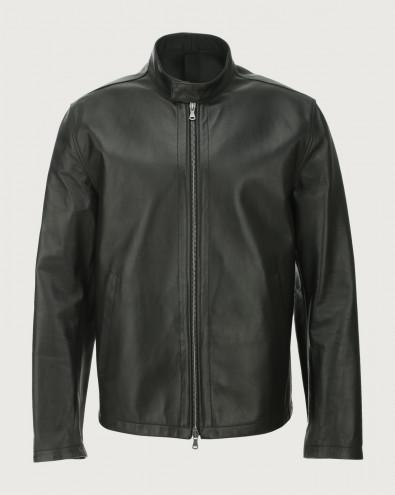 Nappa Nature leather biker jacket