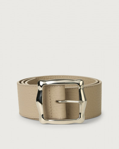 Soft high waist leather belt 5 cm