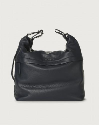 Micron leather crossbody bag
