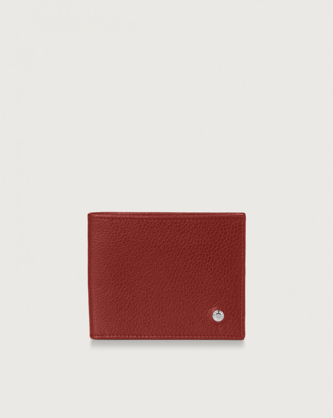Orciani Micron leather wallet Leather Bordeaux