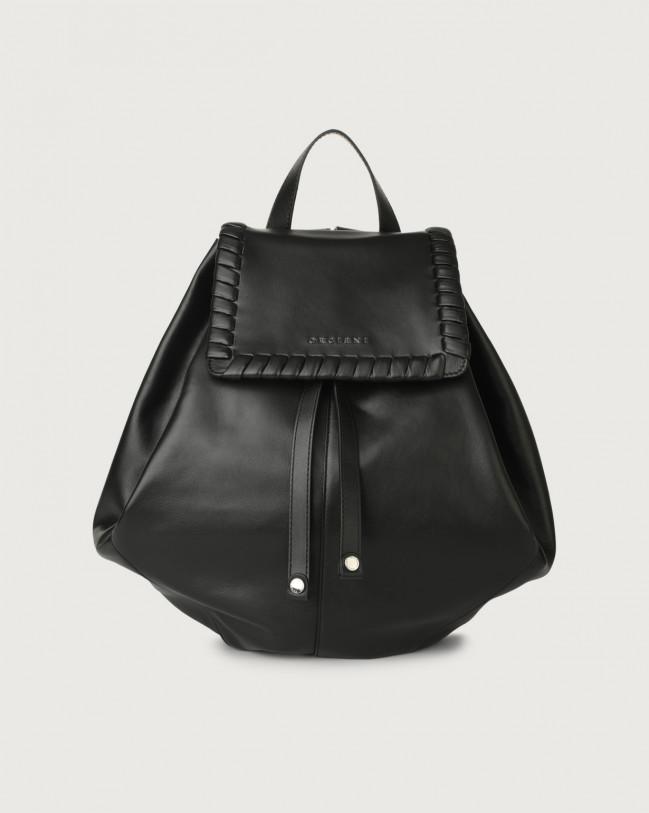 Orciani Iris Liberty leather backpack Leather Black