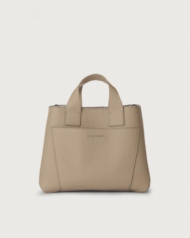 Orciani Nora Soft leather handbag Leather Sand