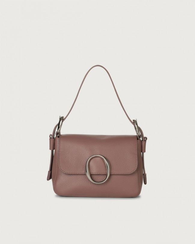 Orciani Soho Micron leather mini bag with strap Leather Mauve