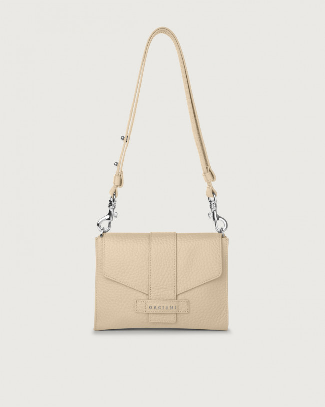 Orciani Soft leather mini bag Leather Sand