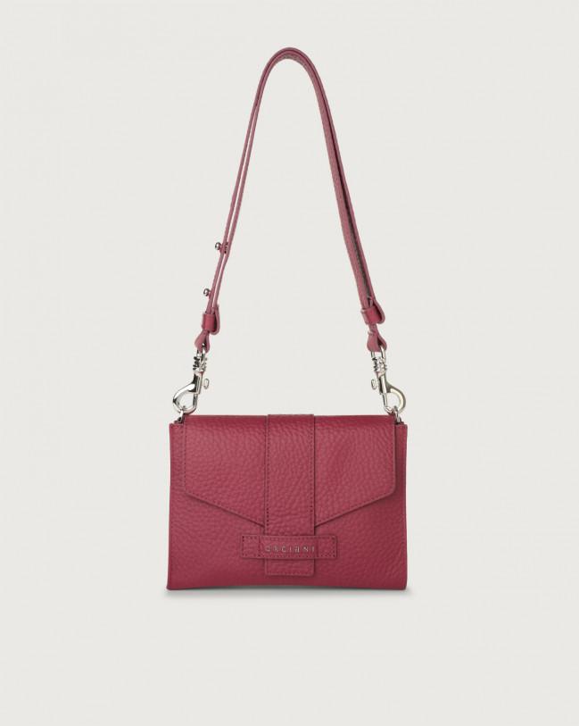 Orciani Soft leather mini bag Leather Purple