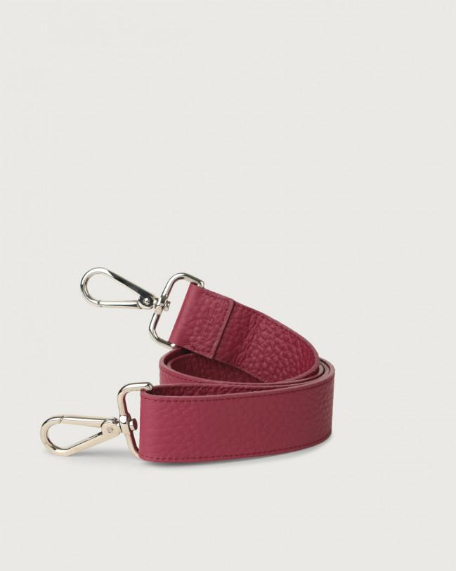Orciani Soft adjustable leather strap Leather Purple