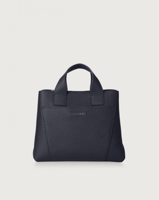 Orciani Nora Soft leather handbag Leather Navy