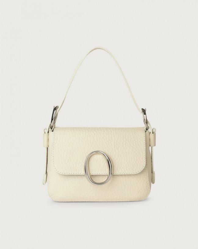 Orciani Soho Soft leather mini bag with strap Leather Ivory
