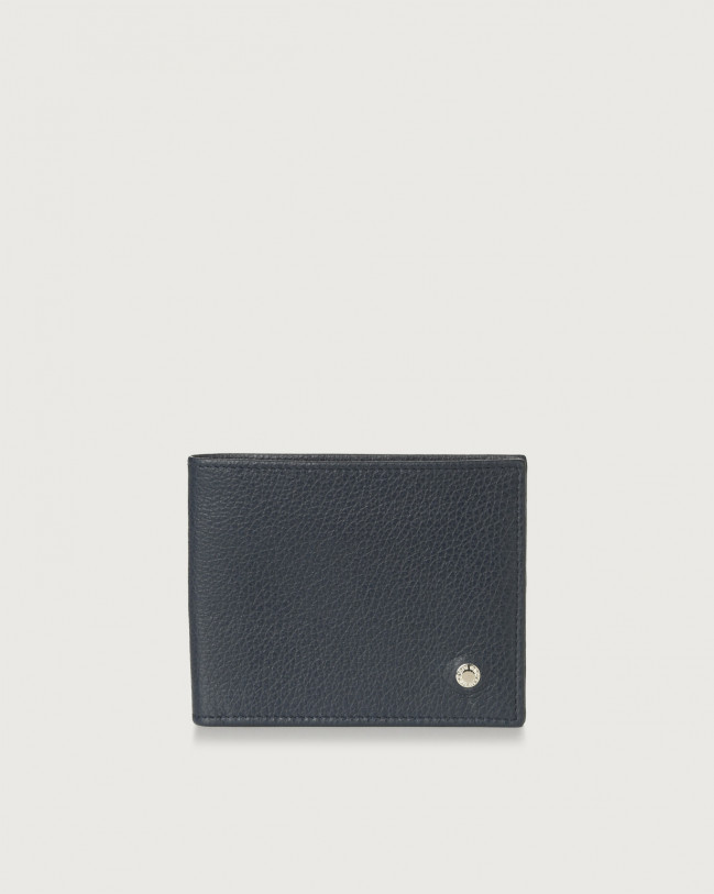 Orciani Micron leather wallet Leather Navy