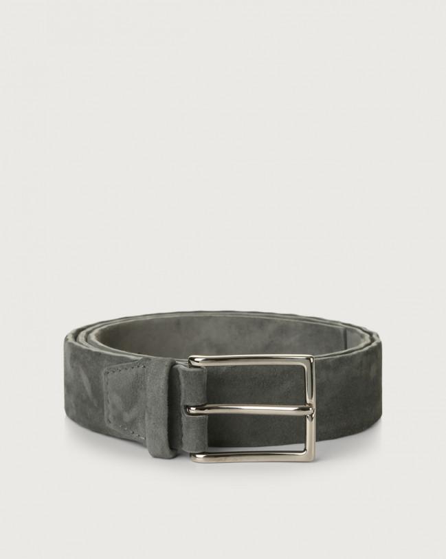 Orciani Camoscio suede belt Suede Grey