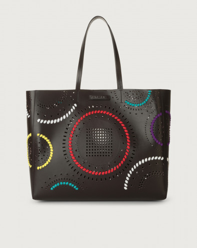 Le Sac Carioca leather tote bag