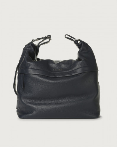 Micron leather crossbody bag