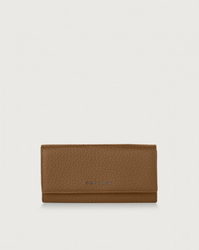 Soft leather envelope wallet