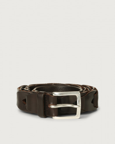 Bull Soft chain like leather belt