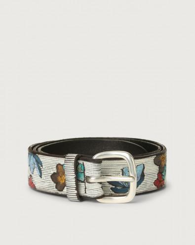 Japan leather belt