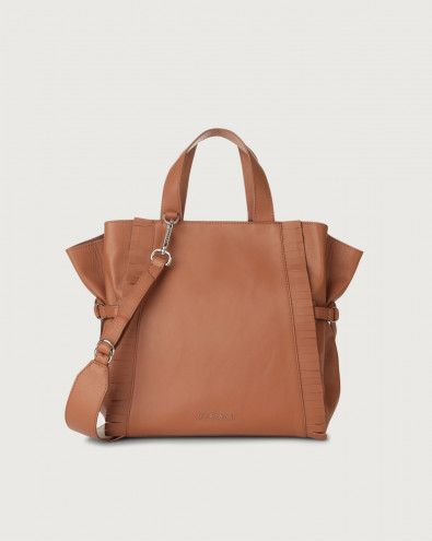 Fan Liberty Fringe medium leather handbag