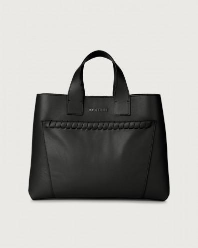Nora Liberty large leather handbag