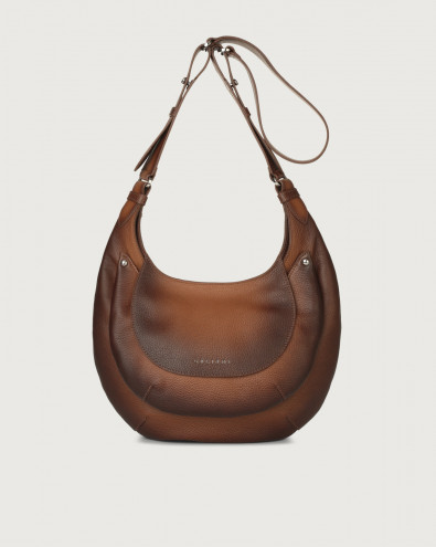 Gipsy Micron Deep leather crossbody bag